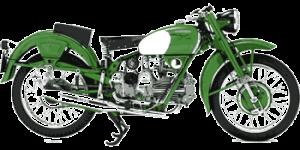 Oldtimer Motorfiets met lange historie
